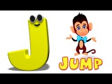 Phonics Letter- J song Alphabet Songs For Toddlers ABC Rhymes For Children by Kids Tv