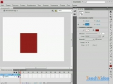 Видеоуроки Adobe Flash CS4 - Смена положений и размеров форм