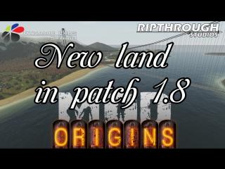 Новые земли в Origins Mod 1.8