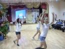 Танец девчёнок 6 А класса