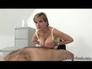 Sexy British milf give titjob