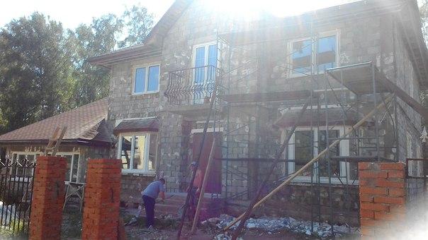 Термофикс на новом доме в Лесной Поляне