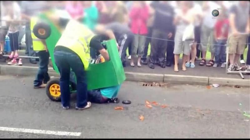 15 Катастрофа на колесах