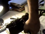 Самодельный станок для расклёпки-заклёпки пильных цепей. ДЕДУШКАГАСТАРБАЙТЕР