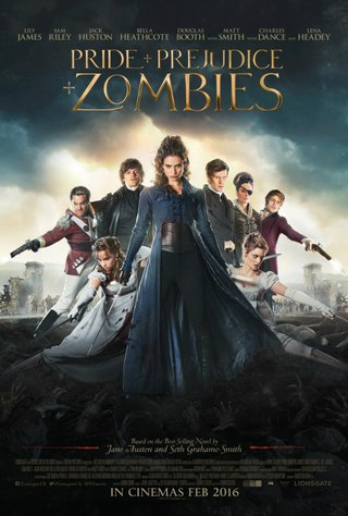 傲慢與屍變/傲慢與偏見與殭屍(Pride and Prejudice and Zombies)poster