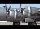 B 29 SuperFortress Engine Start Maintenance Check Flight