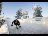 Ice cross downhill qualifiers in Finland - Red Bull Crashed Ice