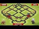 Clash of Clans IФарм-база тх8(Чистильщик)IFarming base th8 I