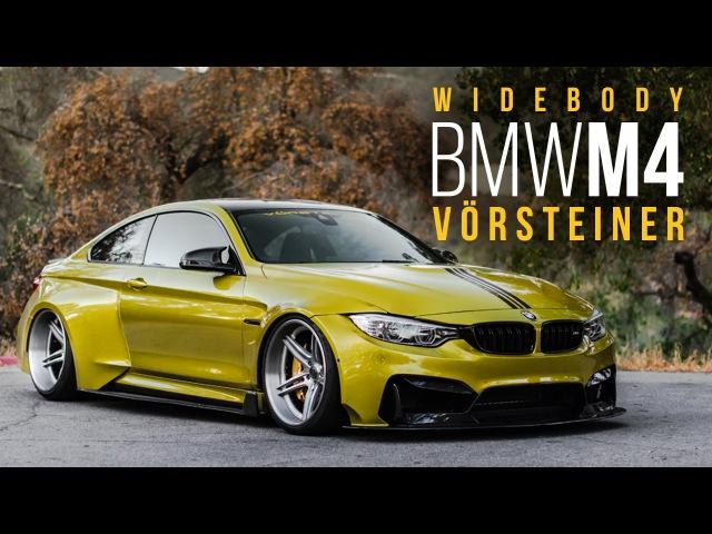 Vorsteiner Widebody BMW M4 (PartsBoutique.ru)