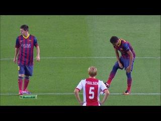 Барселона - Аякс 4-0 (18 сентября 2013 г, Лига чемпионов УЕФА)