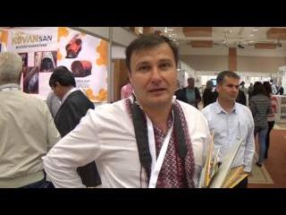 Украинский пчеловод Геннадий Красилец на Пчеловодном Конгрессе АПИСЛАВИЯ в Турции 2014
