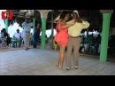 Juan R Primiterio y Zenia Amarante bailando Son Dominicano Playita de Nigua RD