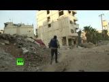Женские подразделения сирийской армии участвуют в освобождении пригородов Дамаска