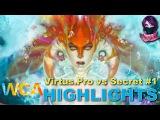 Highlights Virtus.Pro vs Team Secret #1 (bo3) | World Cyber Arena 2015  (24.09.2015)