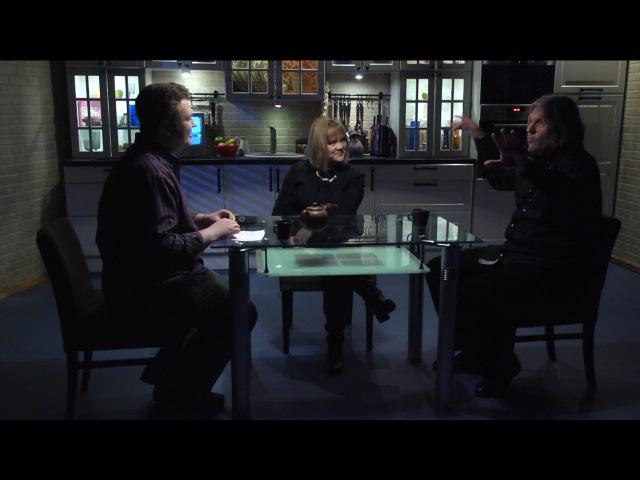Настя Полева и Егор Белкин в программе Вечерний Чай