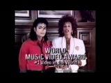 Whitney Houston presents award to Michael Jackson in 1989
