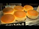 【旅】チーズケーキ焼き上がり~焼印押し りくろーおじさんの店 な1243