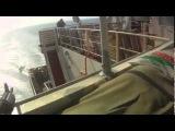 Бой 4-х морских контрактников с 2 лодками пиратов.