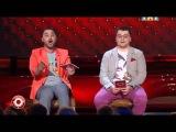 Новый Comedy Club Камеди клаб Карибидис Харламов В КОММЕНТАТОРСКОЙ БУДКЕ