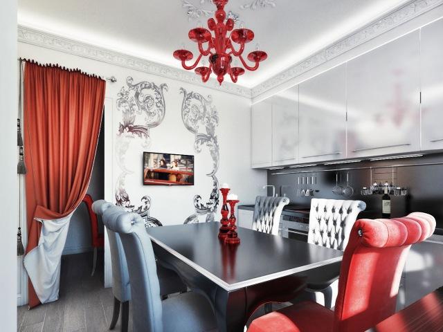 Кухни в стиле арт-деко - идеи дизайна для квартиры
