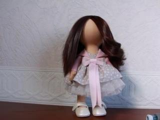 Видео МК по прическе для куклы
