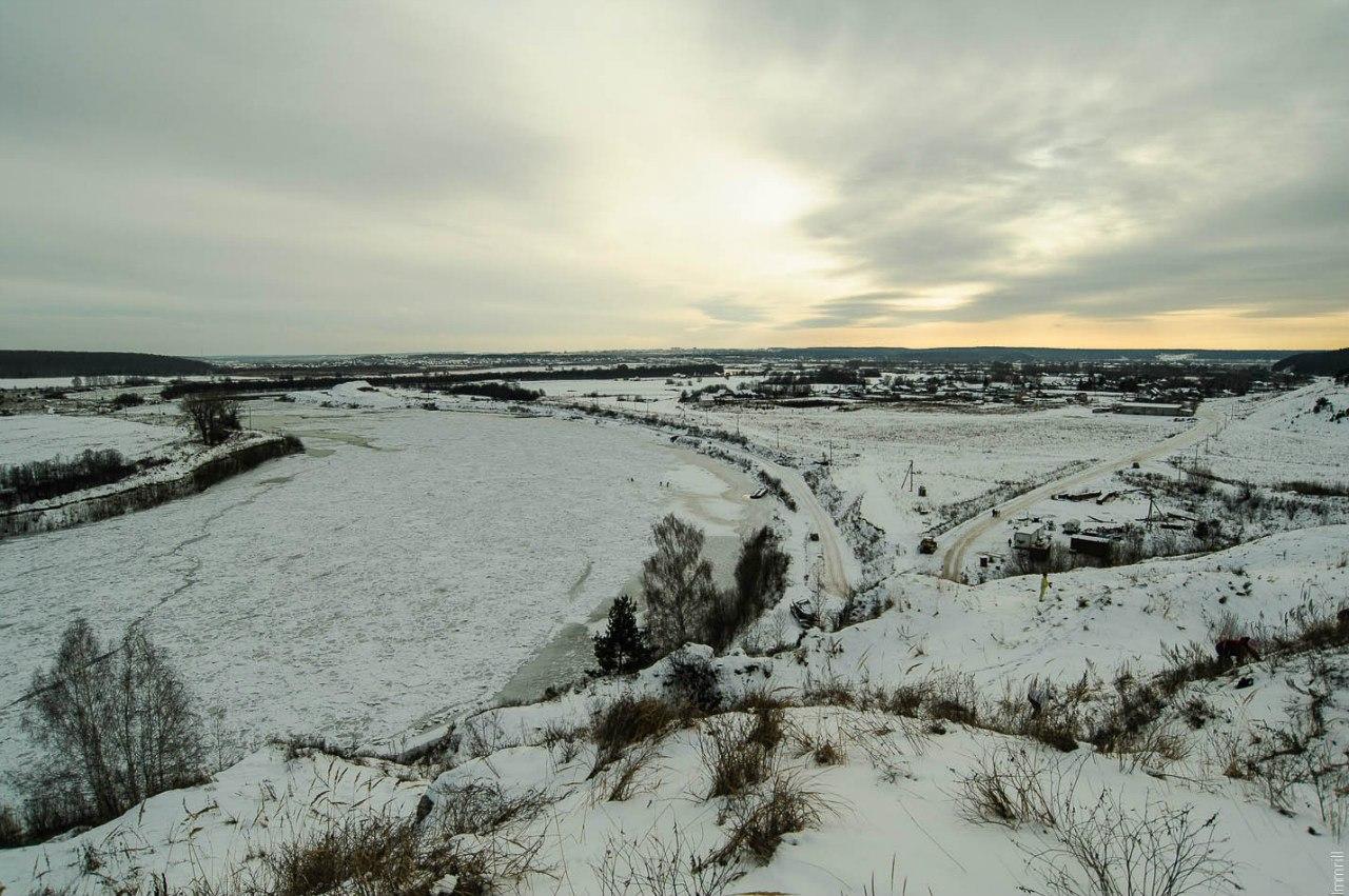 Вид с Греховской горы