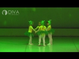 Детские танцы 3-5 лет  от студии DIVA, хореограф Татьяна Егорова
