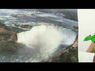 Видео для детей. Модная география_ Канада. Индейцы, Христофор Колумб, Ниагарский водопад и хоккей