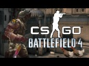 Battlefield 4 Funny Moments CSGO Edition , Flashbang Trolling , Glitch RAGE