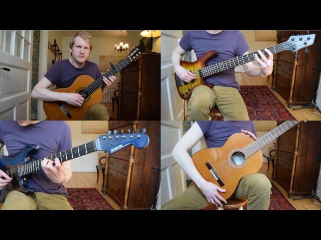 Ninja Gaiden (Nes) Act 4-2 (Acoustic Classical Guitar Cover by Jonas Lefvert)