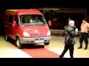 Рекордный трюк переезд автомобиля весом 3700 кг через Дмитрия Халаджи