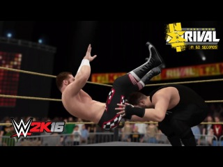 WWE 2K16 NXT TakeOver: Rival in 60 Seconds!