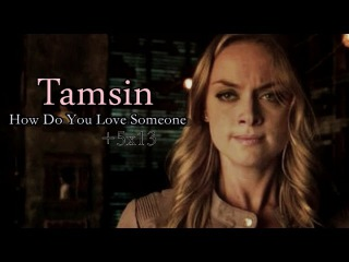 Tamsin - How Do You Love Someone [Lost Girl 5x13]