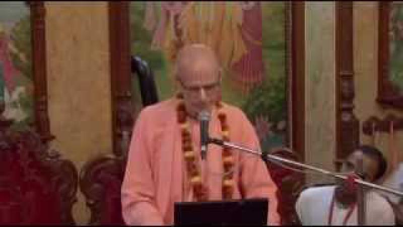 Е.С. Бхакти Рагхава Свами Махарадж говорит о Дайви варнашрама дхарме