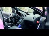 Розово-Фиолетовая Пежо 308 ( Peugeot 308) и мощный бас. Про Автозвук на канале Посмотрим