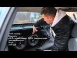 ВАЗ 2110 - мощный басс бюджетом в 20 тыс. Рубрика про Автозвук на канале Посмотрим