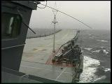 Фильм о походе корабельной авианосной группы (ТАКР Кузнецов) в Сев. Атлантику / Открытое море