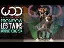 Les Twins | FRONTROW | World of Dance Las Vegas 2014 WODVEGAS