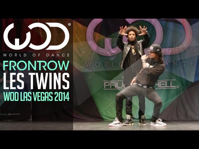Les Twins | FRONTROW | World of Dance Las Vegas 2014 WODVEGAS