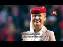 """Шоу стюардесс Emirates перед матчем """"Бенфики"""""""