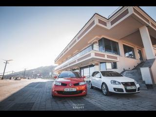 Тест- драйв VW Golf 5 GTi & Renault Megane RS (PRO100Drive)