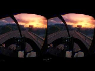 Gta 5 в очках виртуальной реальности VR BOX