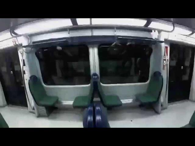 TV Zombie Prank - Brazilian Train Aterradora Broma de Zombies en el Metro de Brasil (HD)