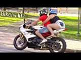 Bikers 103 - Best Motorcycle sounds on the streets of Curitiba! 60FPS