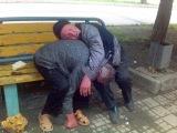 Смешные драки бомжей и алкашей. ПЬЯНАЯ РОССИЯ!!! (Drunk fights Russia) 2015