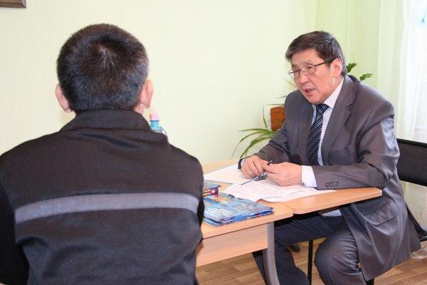 ИК-7 посетил Уполномоченный по правам человека в Якутии Алексей Ефимов