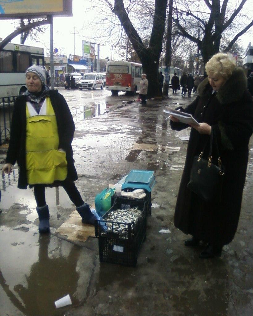 В Таганроге боролись с незаконной торговлей рыбой, фото-1