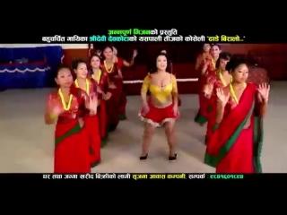 New Nepali Lok Geet 2015 _ Dhade Biralo (JYOTI MAGAR HOT DANCE) by Shreedevi - P