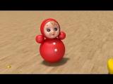 Развивающие мультики для самых маленьких. Игрушки для малыша - 2. Учим названия игрушек.