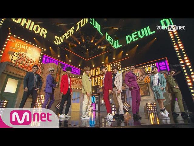 최.초.공.개! 데뷔 10주년 ′슈퍼주니어′의 컴백! 강렬한 ′Devil′ 무대 M COUNTDOWN 433화